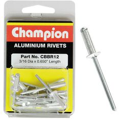 Champion Rivet Pack - 3 / 16 X 0.650, CBBR12, , scanz_hi-res