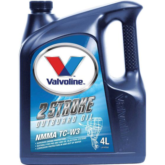 Valvoline Outboard Engine Oil - 2 Stroke, 4 Litre, , scanz_hi-res