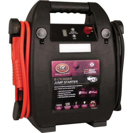 SCA 12V 1900 Amp 8 Cylinder Jump Starter, , scanz_hi-res