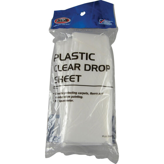 SCA Plastic Drop Sheet - 9.7m2, , scanz_hi-res