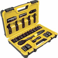 "Stanley Socket Set 1/2"" Drive Metric 25 Piece, , scanz_hi-res"