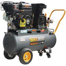Blackridge Petrol Air Compressor Belt Drive 6.5HP 270LPM, , scanz_hi-res