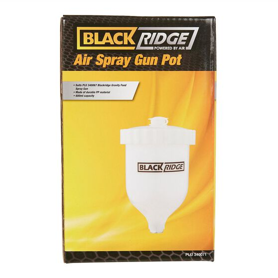 Blackridge Air Spray Gun Pot Suits W960, , scanz_hi-res