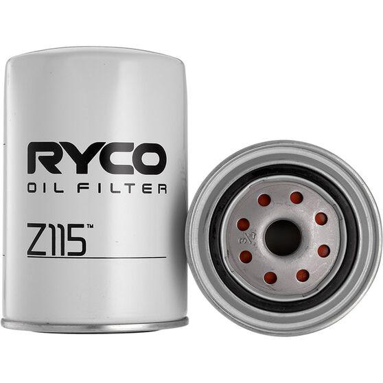 Ryco Oil Filter - Z115, , scanz_hi-res