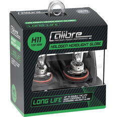 Calibre Long Life Headlight Globe H11 12V 55W, , scanz_hi-res