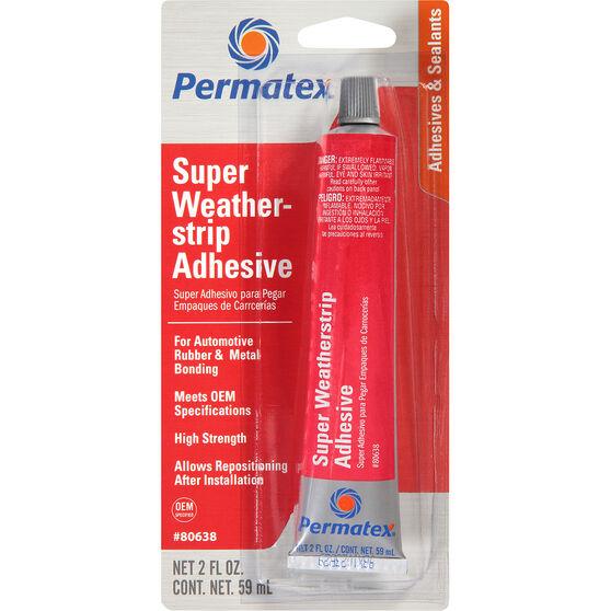 Permatex Super Weatherstrip Adhesive - 59mL, , scanz_hi-res