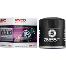 Ryco Syntec Oil Filter (Interchangeable with Z663) - Z663ST, , scanz_hi-res