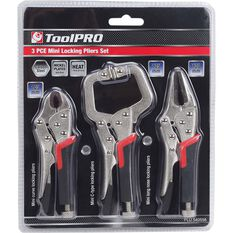 ToolPRO Mini Locking Plier Set - 3 Pieces, , scanz_hi-res
