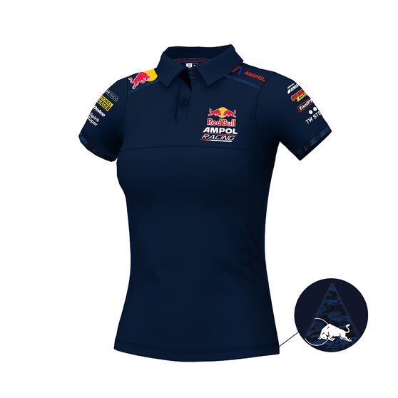 Red Bull Ampol Racing Polo Womens, RBAR, scanz_hi-res