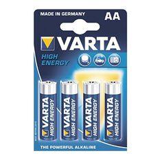 Varta High Energy Battery - AA, 4 Pack, , scanz_hi-res