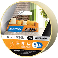 Norton Expert 3 Day Masking Tape - 48mm x 50m, , scanz_hi-res