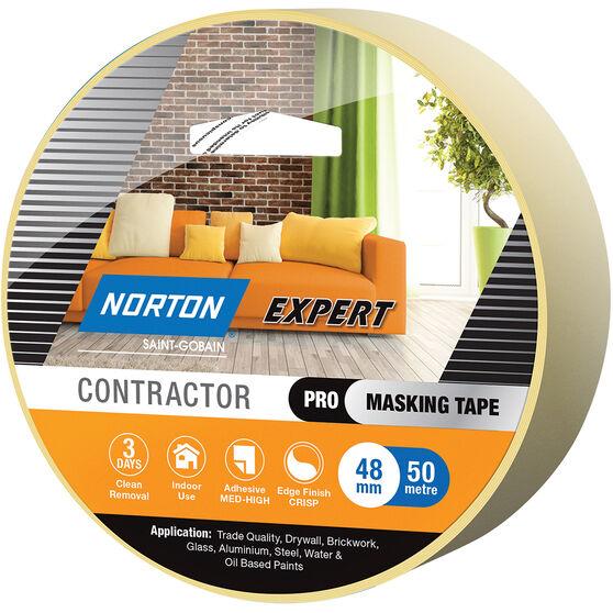 Norton Expert 3 Day Masking Tape - 48mm x 50m, , scanz_hi-res