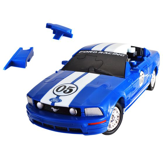 3D Ford Mustang Car Puzzle - 1:32 Scale, , scanz_hi-res