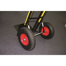 SCA Hand Trolley, Pneumatic Wheels - Black, 300kg, , scanz_hi-res