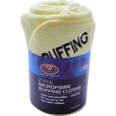 SCA Microfibre Buffing Cloths - 2 pack, , scanz_hi-res
