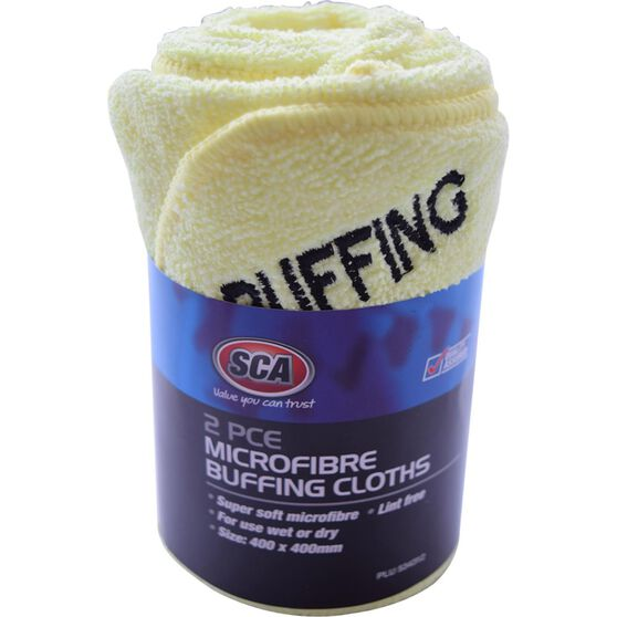 Microfibre Buffing Cloths - 2 pack, , scanz_hi-res