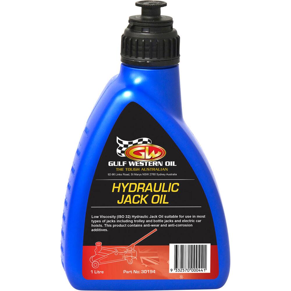 Gulf Western Hydraulic Jack Oil 1 Litre Supercheap