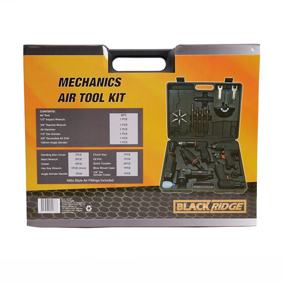 Blackridge Mechanics Air Tool Kit - 26 Piece, , scanz_hi-res