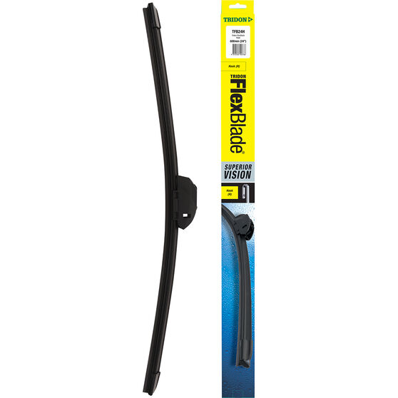 Tridon FlexBlade Single Wiper 24 Inch Hook, , scanz_hi-res