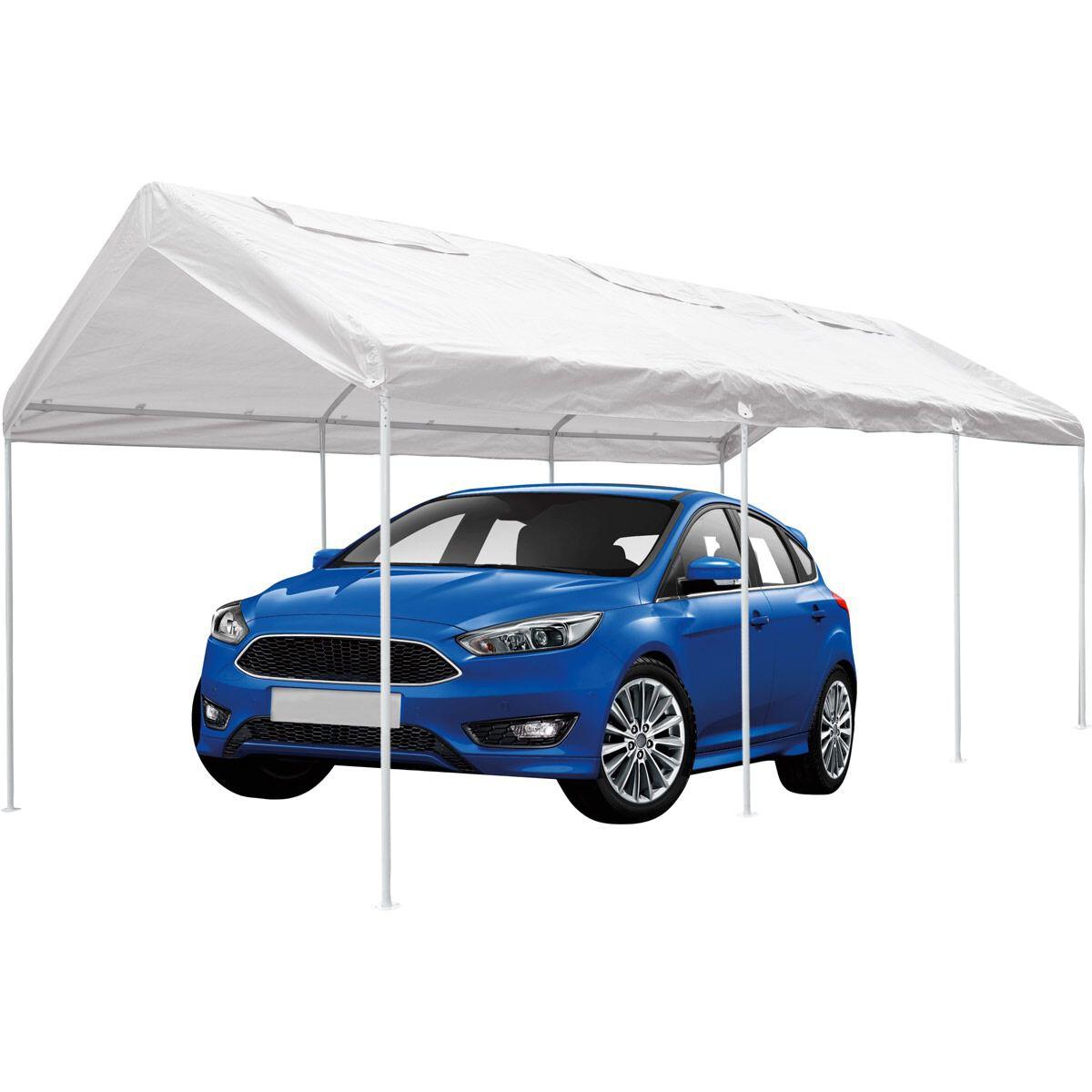 coverall temporary carport 3 x 6 x 2 7m supercheap auto new zealand rh supercheapauto co nz