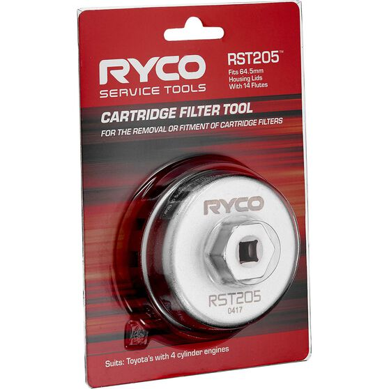 Ryco Oil Filter Cup Wrench RST205, , scanz_hi-res