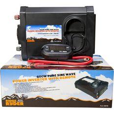 Ridge Ryder Pure Sine Wave Inverter 600W, , scanz_hi-res