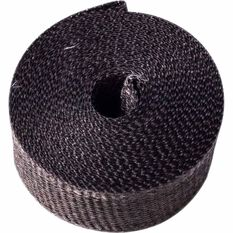 Exhaust Wrap Black 2 Wide X 25Ft Long, , scanz_hi-res