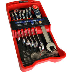 ToolPRO Ratchet Spanner Set Flex Head Metric 7 Piece, , scanz_hi-res