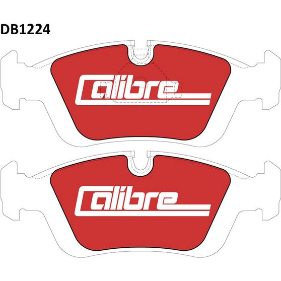 Calibre Disc Brake Pads - DB1224CAL, , scanz_hi-res