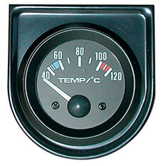 Trisco Water Temperature Gauge - Electrical, 52mm, , scanz_hi-res