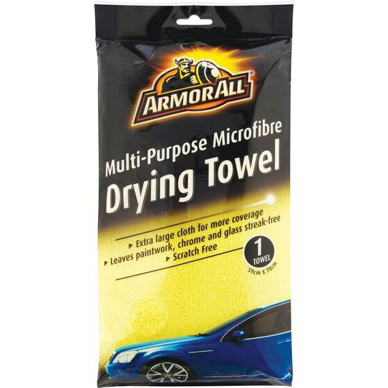 Armor All Microfibre Drying Towel - 59cm X 78cm, , scanz_hi-res
