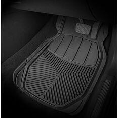 SCA All Season rubber Car Floor Mats - Black Set of 4, , scanz_hi-res