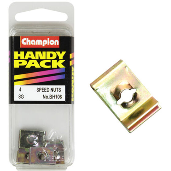 Champion Speed Nuts (Clips) - 8G, BH106, Handy Pack, , scanz_hi-res