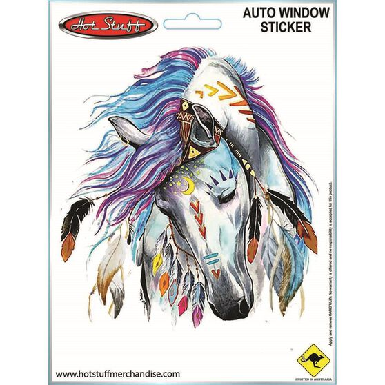 Sticker Horse Feathers SH2770, , scanz_hi-res
