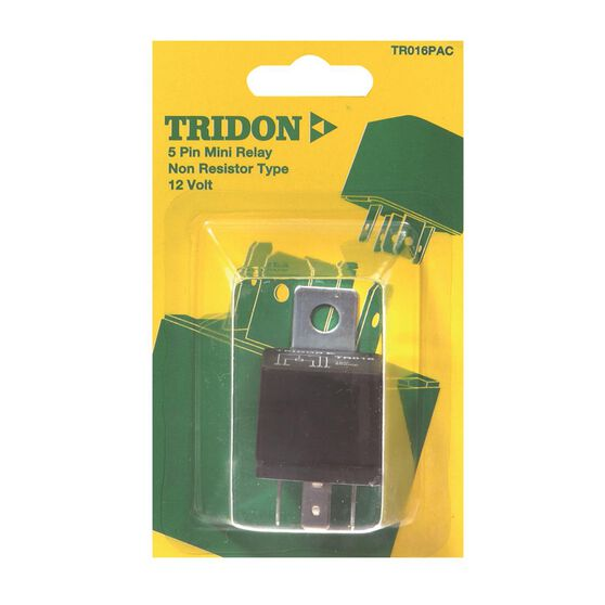 Tridon Mini Relay - 30 AMP, 5 Pin, , scanz_hi-res