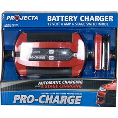 Projecta Pro-Charge 12V 1-4 Amp Battery Charger, , scanz_hi-res