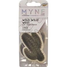 Myne Wild Air Freshener - Wild West, 4 Pack, , scanz_hi-res