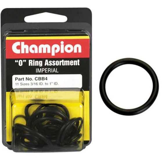Champion O Ring Pack- 3 / 16-1ID, CBB4, , scanz_hi-res