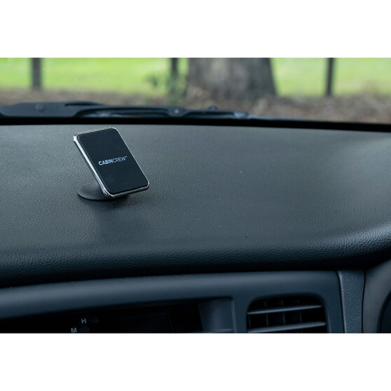 Cabin Crew Phone Holder - Sticker Mount, Magnetic, Black, , scanz_hi-res