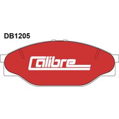 Calibre Disc Brake Pads DB1205CAL, , scanz_hi-res