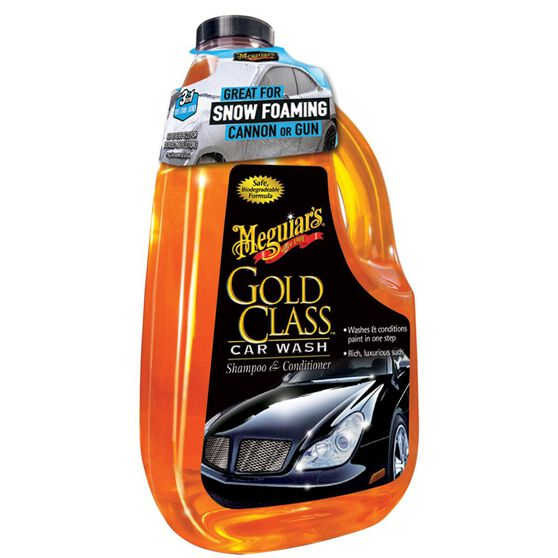 Meguiar's Gold Class Car Wash 1.89 Litre, , scanz_hi-res