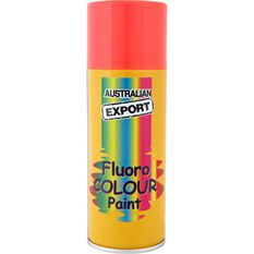Aerosol Paint - Enamel, Fluoro Blaze Orange, 125g, , scanz_hi-res