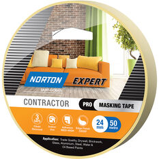 Norton Expert 3 Day Masking Tape -  24mm x 50m, , scanz_hi-res