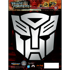 Hot Stuff Sticker - Transformers Autobots, Chrome, , scanz_hi-res