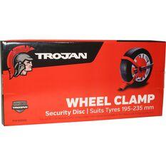 Trailer Wheel Clamp Defender - To Suit 195-235 tyres, , scanz_hi-res
