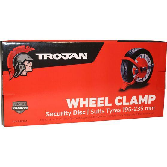 Trailer Wheel Clamp Defender Suits 195-235mm Tyres, , scanz_hi-res