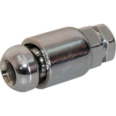 Wheel Nuts, Tapered Lock, Chrome - 7/16, , scanz_hi-res