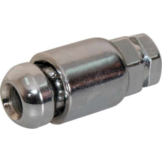 Calibre Wheel Nuts, Tapered Lock, Chrome - SLN716, 7 / 16inch, , scanz_hi-res