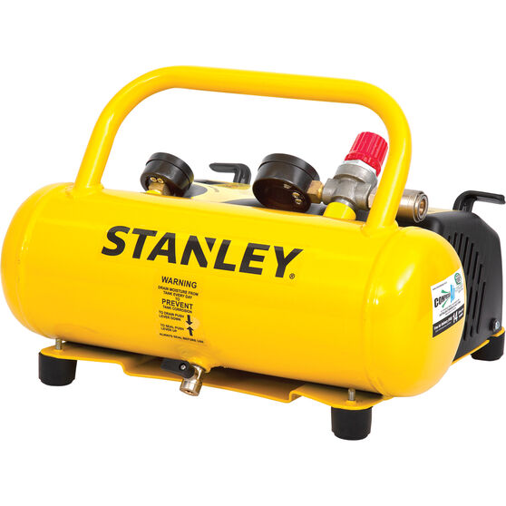 Stanley Wall Mount Air Compressor 0.5HP 14LPM, , scanz_hi-res