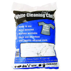 Endeavour White Cleaning Cloths - 1.5kg, , scanz_hi-res